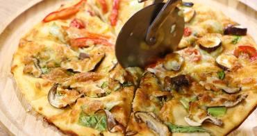 台中七期美食 joyhoja pizza diy 親子情侶培養感情好時刻