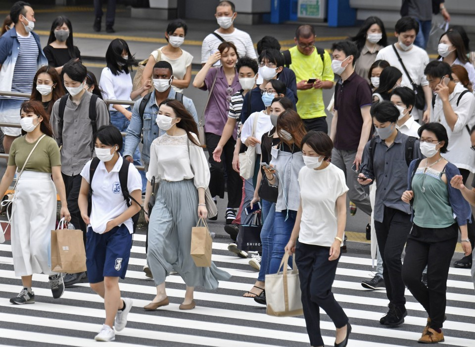 Tokyo confirms 102 new cases of coronavirus, surpassing 100 on day 5
