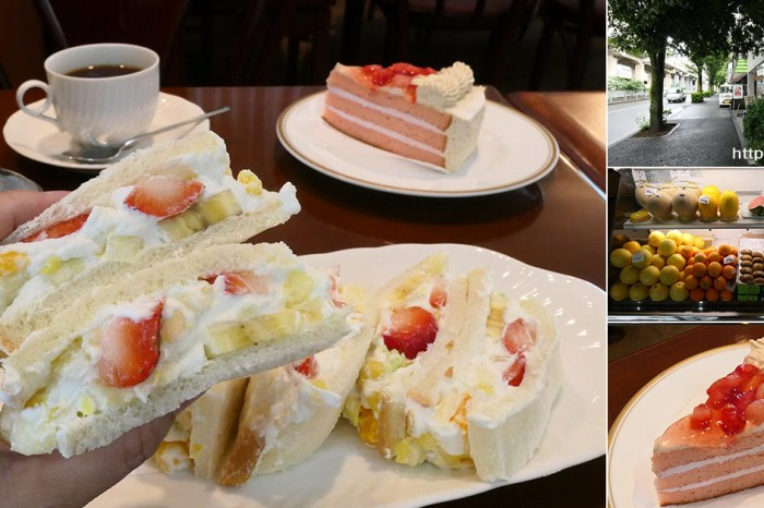 東京必吃 赤羽車站・小世界的水果三明治 孤獨的美食家五郎&日本網友大心推薦
