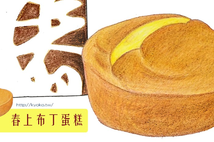 新竹伴手禮第一名 |春上布丁蛋糕 | 經典原味・靜岡抹茶口味試吃記