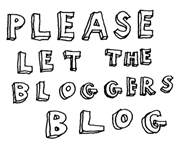 let bloggers blog