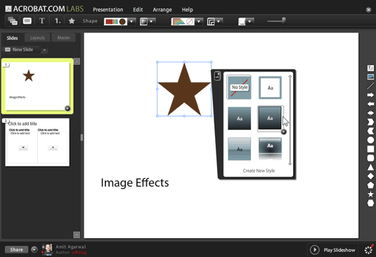 image effects - reflection