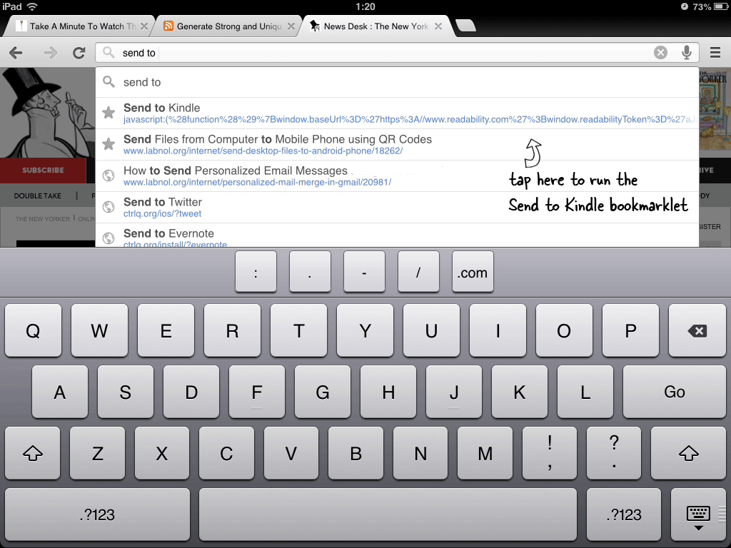 Google Chrome - iPhone and iPad