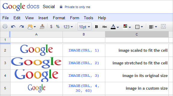 how to put pictures in shaps on google docs