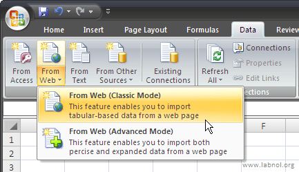 import-webpages