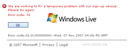 windows live email address