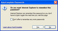 remember my password