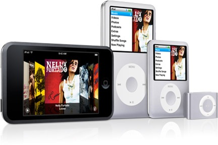 compare ipod models