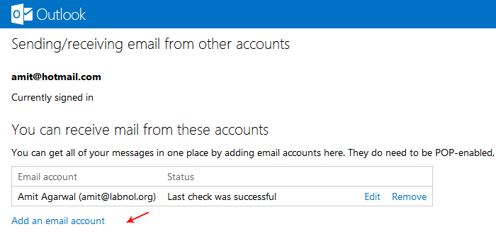 Import Gmail into your Outlook