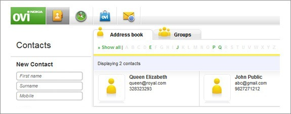 Easily Export your Nokia Contacts to another Phone