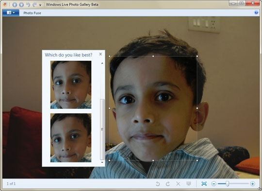 Photo Fuse in Photo Gallery