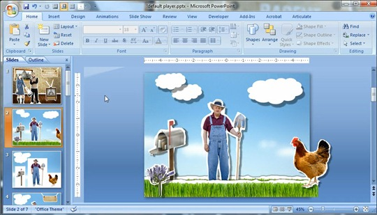 Powerpoint 3D Effects