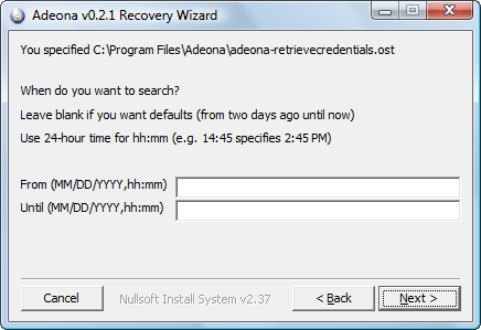 recover ip address