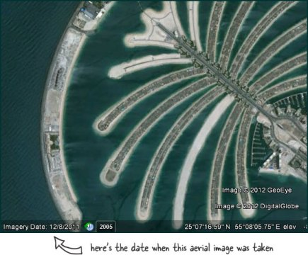 Find the Date When Satellite Images on Google Maps Were Taken