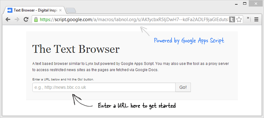 Text Browser