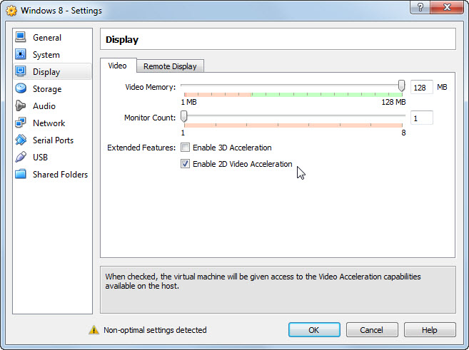 Virtualbox 2d acceleration disabled dating 1