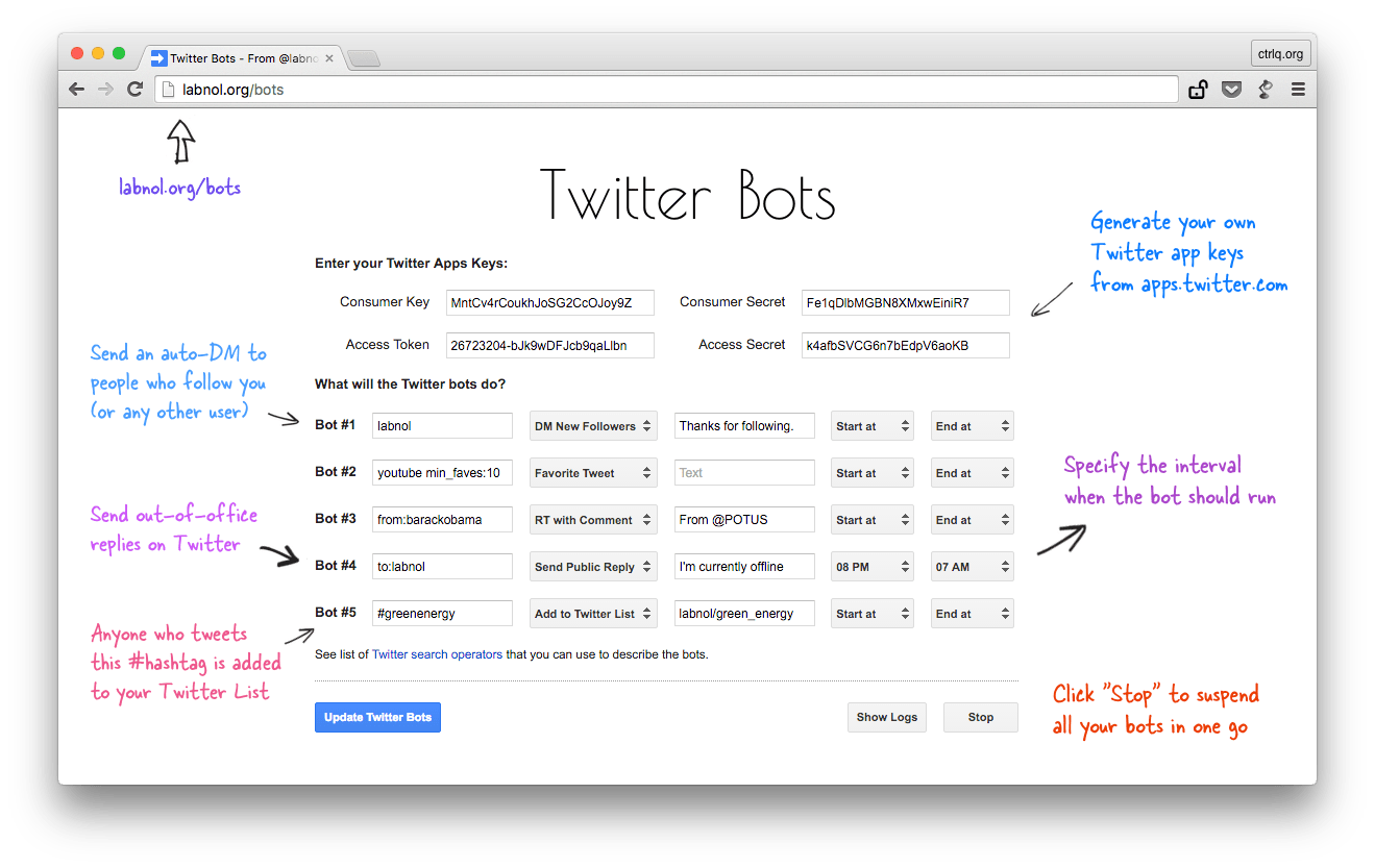 How to Write a Twitter Bot in 5 Minutes