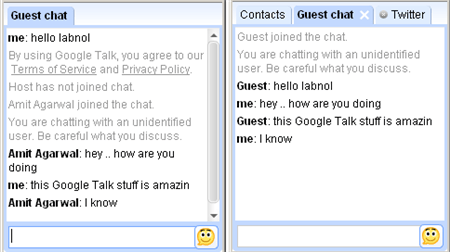 Add Google Talk Badge To Your Blog and Chat with Readers Live