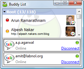 multiple gmail gtalk id
