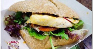澳洲雪梨美食 》Nando's(Myer Centre分店)。St James Station附近美食,健康的烤雞全麥漢堡,沙拉根本神人塞的