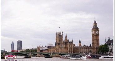 英國倫敦必去》River Cruises in London。乘船遊覽泰晤士河畔景色風光,遊覽倫敦各大知名景點最好的方式之一(waterloo station)
