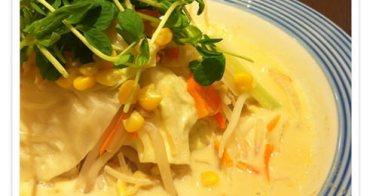 食記。長崎強棒麵Ringer Hut 》有義大利麵錯覺的滿滿營養青菜拉麵