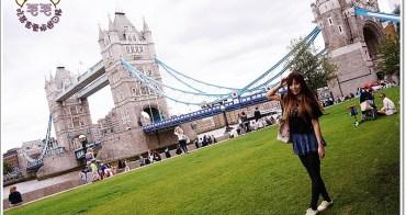 英國倫敦景點推薦 》Tower Bridge倫敦塔橋。幸運地目睹兩扇橋打開讓船駛過♥漫步泰晤士河畔,見證文明的演變(Tower Hill Station|自助旅行)