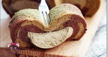食譜 》雙色巧克力抹茶爆漿蛋糕捲。低糖健康配方♥TaCha!抹茶可可粉使用,少量免囤積食材,沖泡飲品推薦