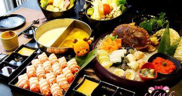 花園日本料理》超大隻活愛爾蘭麵包蟹火鍋♥蟹卵蟹膏滿載/台北中正海鮮火鍋推薦