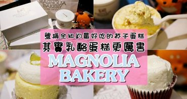 Magnolia Bakery號稱全紐約最好吃的杯子蛋糕,其實乳酪蛋糕更厲害/中央車站 紐約自由行 美食甜點推薦
