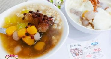 新店美食》穀早味豆花店,用料安心實在傳統豆花&刨冰
