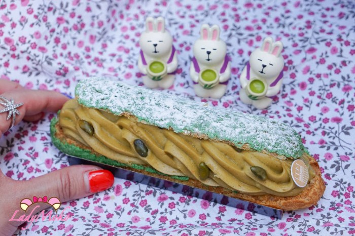 巴黎甜點|Boulangerie De Belles Manières,開心果泡芙,有雷不推