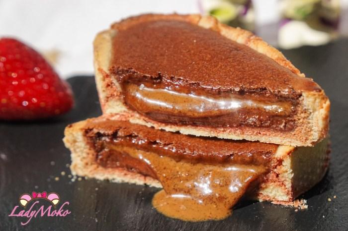 超狂半熟爆漿榛果醬巧克力乳酪塔食譜|法式甜點經典