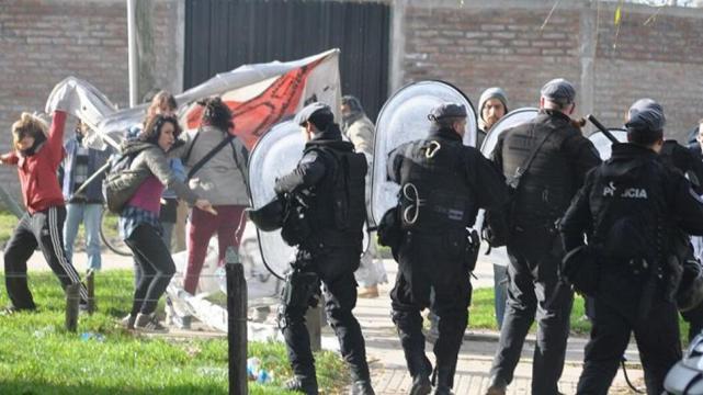Represión en Mar del Plata