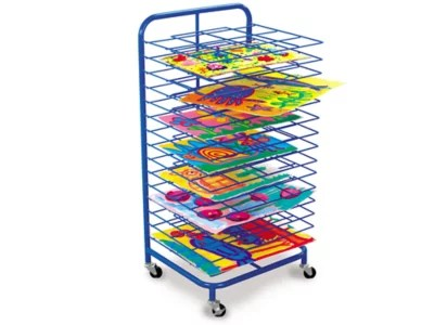 lakeshore double space mobile drying rack
