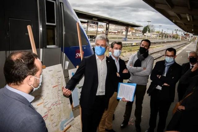 Transports - La Région Aura va aider Railcoop à acquérir neuf trains pour son projet de ligne Bordeaux-Lyon