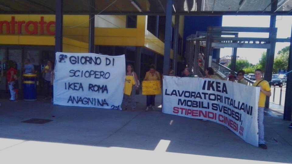 Ikea Deserto A Roma Lavoratori In Sciopero Da Una