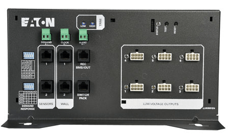 led lighting and supports controls