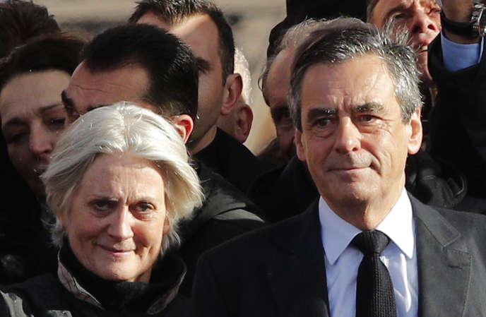 Penelope and François Fillon, March 5, 2017.