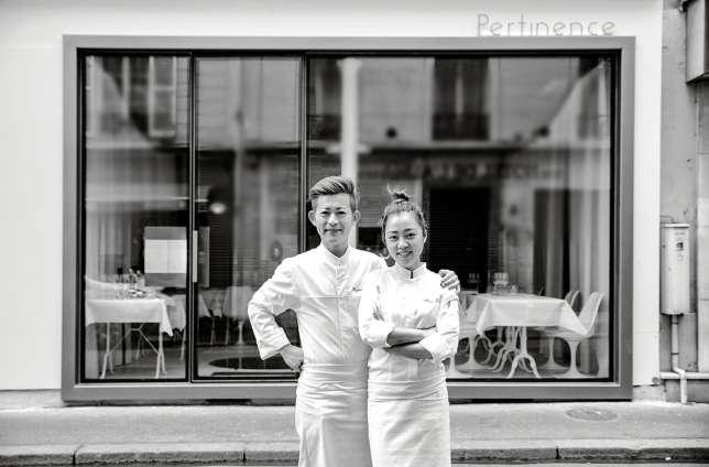 Le Japonais Ryunosuke Naito et la Malaisienne Kwen Liew, un duo aux commandes de Pertinence.