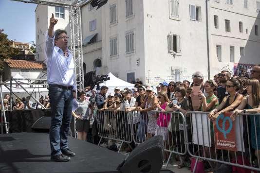 Jean-Luc Mélenchon appelle à manifester le 23 septembre.