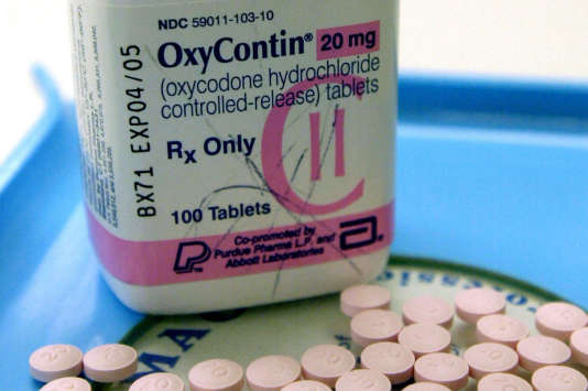 FILE - This July 19, 2001 file photo shows OxyContin tablets at a pharmacy in Montpelier, Vt. OxyContin, which like heroin and morphine before it, was meant to be a safer and more effective opioid. OxyContin and competitor drugs were designed to release the medication slowly over long periods of time, making them and supposedly safe and effective enough to use for months to treat chronic pain. But patients found themselves hooked and wanting more, and drug abusers found they could crush the tablets and snort or inject them, delivering the drug to the bloodstream much more quickly. (AP Photo/Toby Talbot)