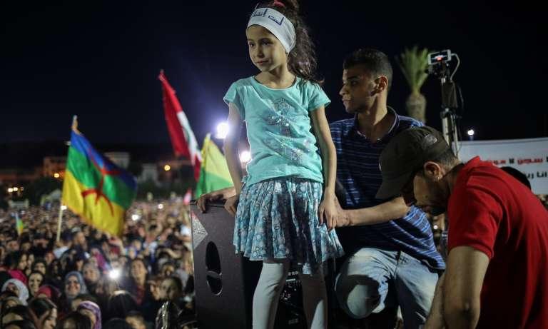 A Al-Hoceima, le 18 mai 2017.