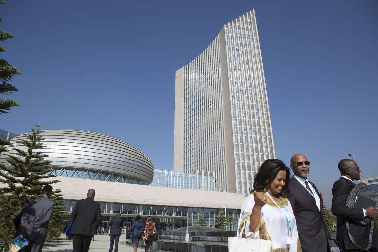 Le siège de l'Union africaine à Addis-Abeba en 2017.