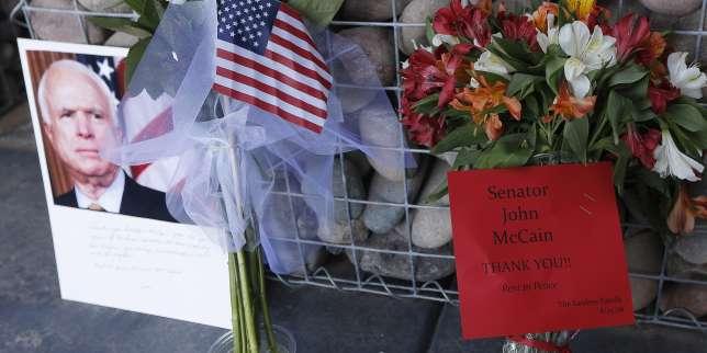 Image result for John McCain funeral at church