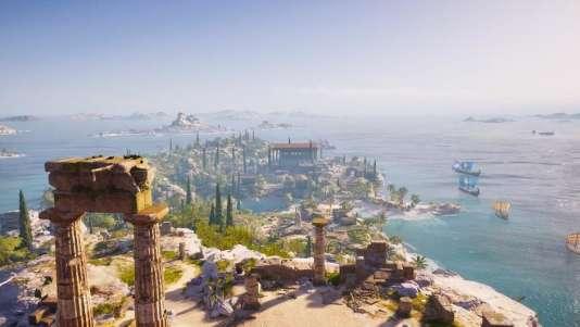 La reconstitution de la Grèce antique est irrésistible de charme.