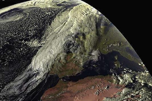 Le zombie ouragan survole l'océan Atlantique depuis le 23 septembre.