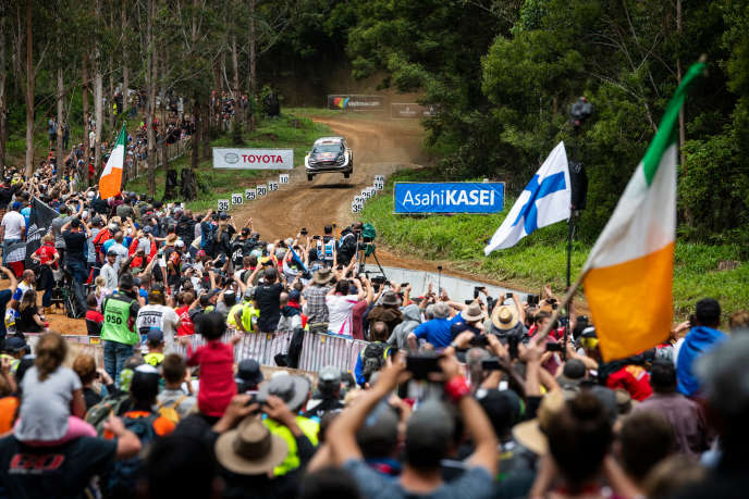 Sébastien Ogier-Julien Ingrassia's M-Sport Ford jumped to victory on November 18th in Coffs Harbor (Australia).