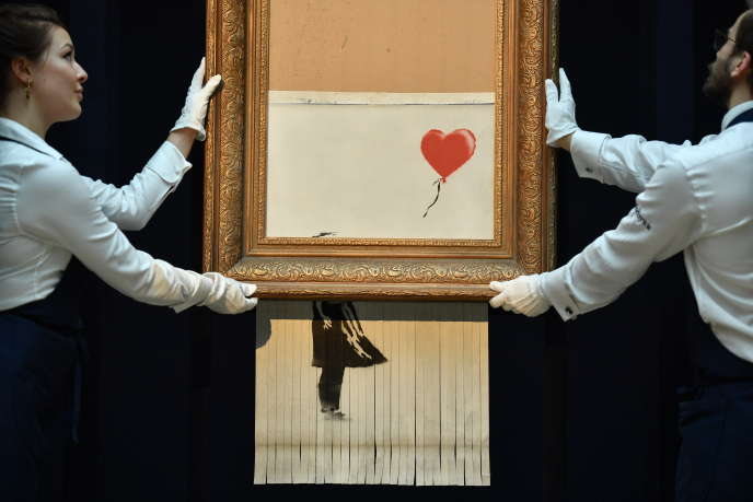 Love is the Air is a Bansky opera sold on October 5th 2018.