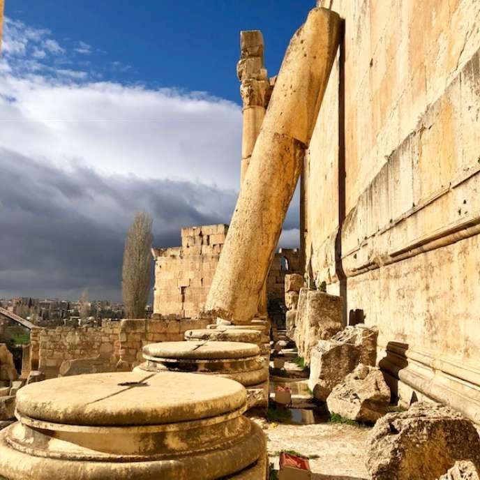 A Baalbek, vestiges de la cité romaine d'Héliopolis.